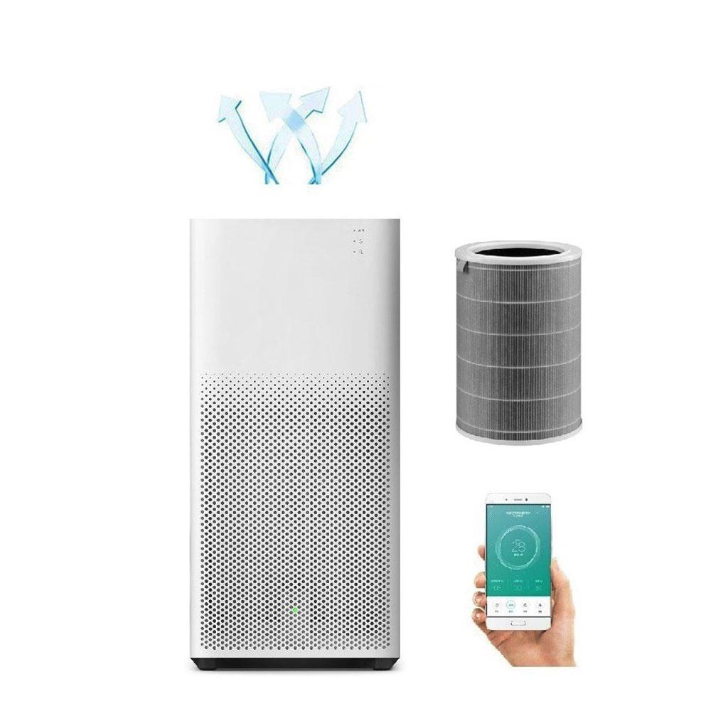 Lõi Lọc Diệt Khuẩn Cho Máy Lọc Không Khí Xiaomi Mi Air Purifier HEPA Filter Màu Xám - Hàng Chính Hãng