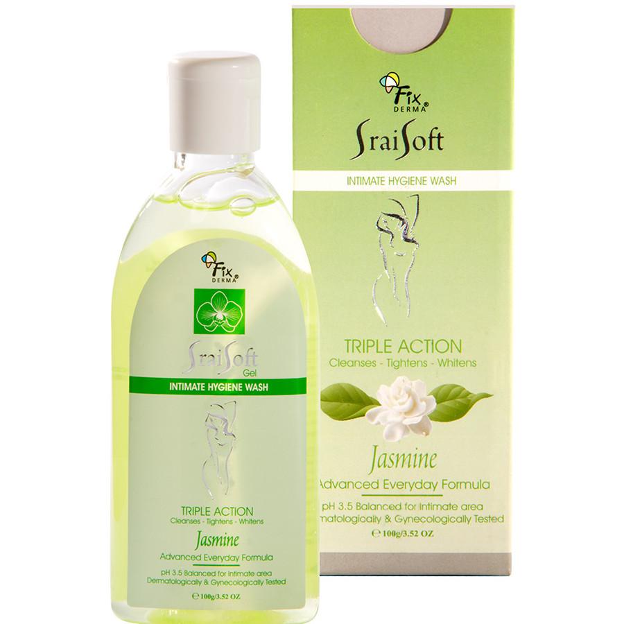 Gel vệ sinh phụ nữ Fixderma Srai Soft Gel – Jasmine (Hương Hoa Lài) (100g)