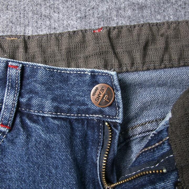 Quần short jean nam xanh đậm Q418 MĐ