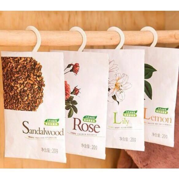 combo 2 túi thơm thảo dược để trong tủ quần áo