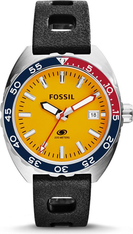 Đồng hồ Nam Fossil dây silicone FS5052