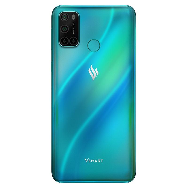 Điện thoại Vsmart Joy 4 (4GB/64GB)- Hàng chính hãng-màu xanh ngọc lam