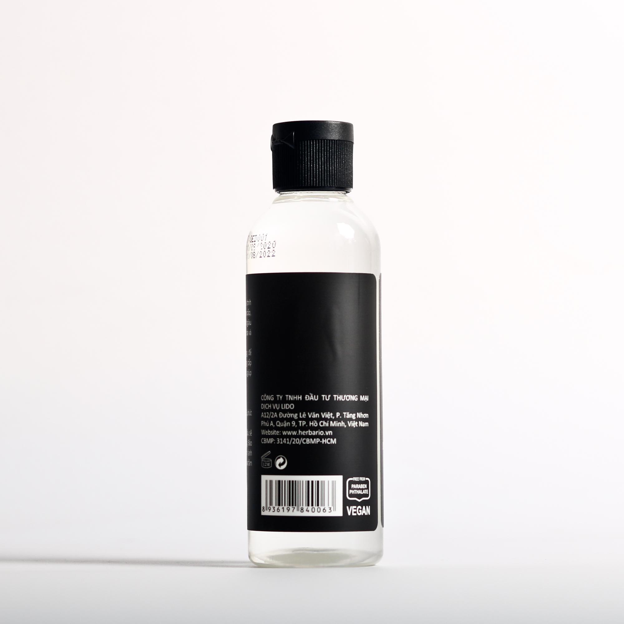 Dầu dừa tinh khiết ép lạnh herbario 110ml nguyên chất dưỡng da, dưỡng tóc thuần chay (Cocos Nucifera Oil)