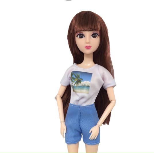 Set 2 mẫu đồ đôi cho búp bê nữ và búp bê Ken giao mẫu ngẫu nhiên