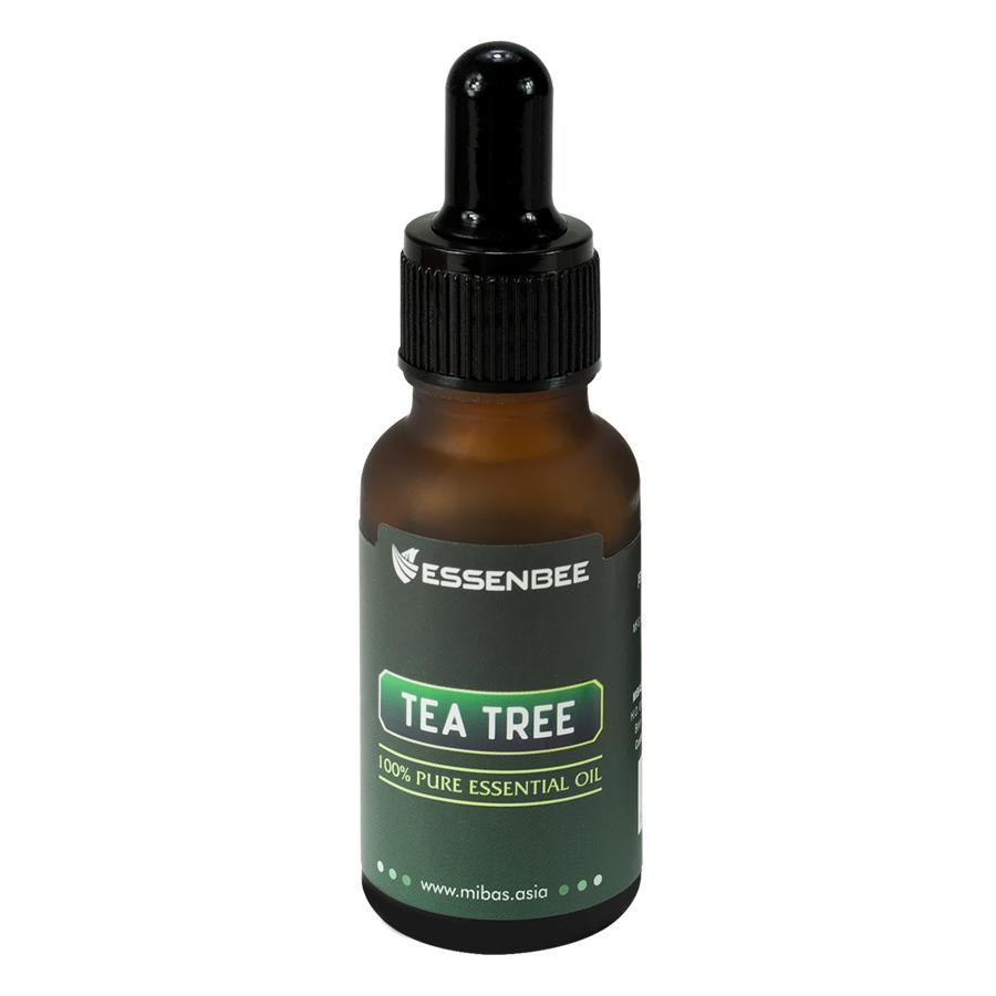Tinh dầu nguyên chất Tràm Trà - Essenbee - Hỗ trợ điều trị mụn hiệu quả.