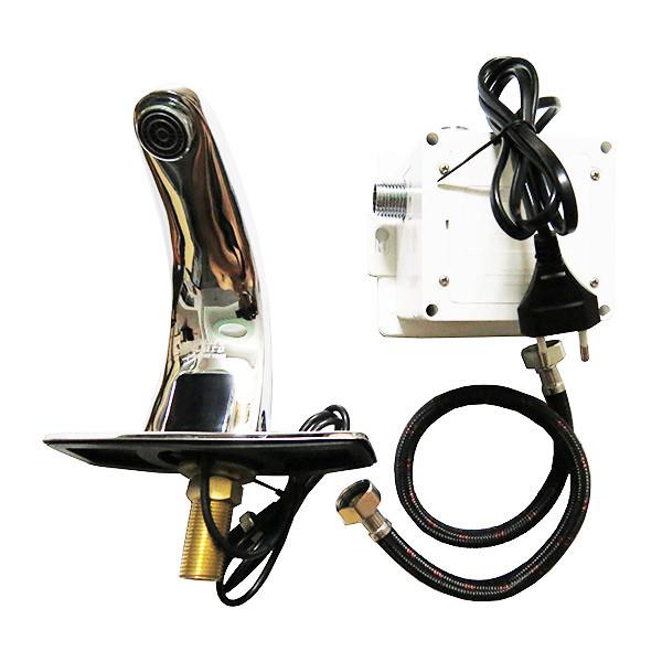 Vòi Lavabo cảm ứng Eurolife EL-A100 (Trắng bạc)