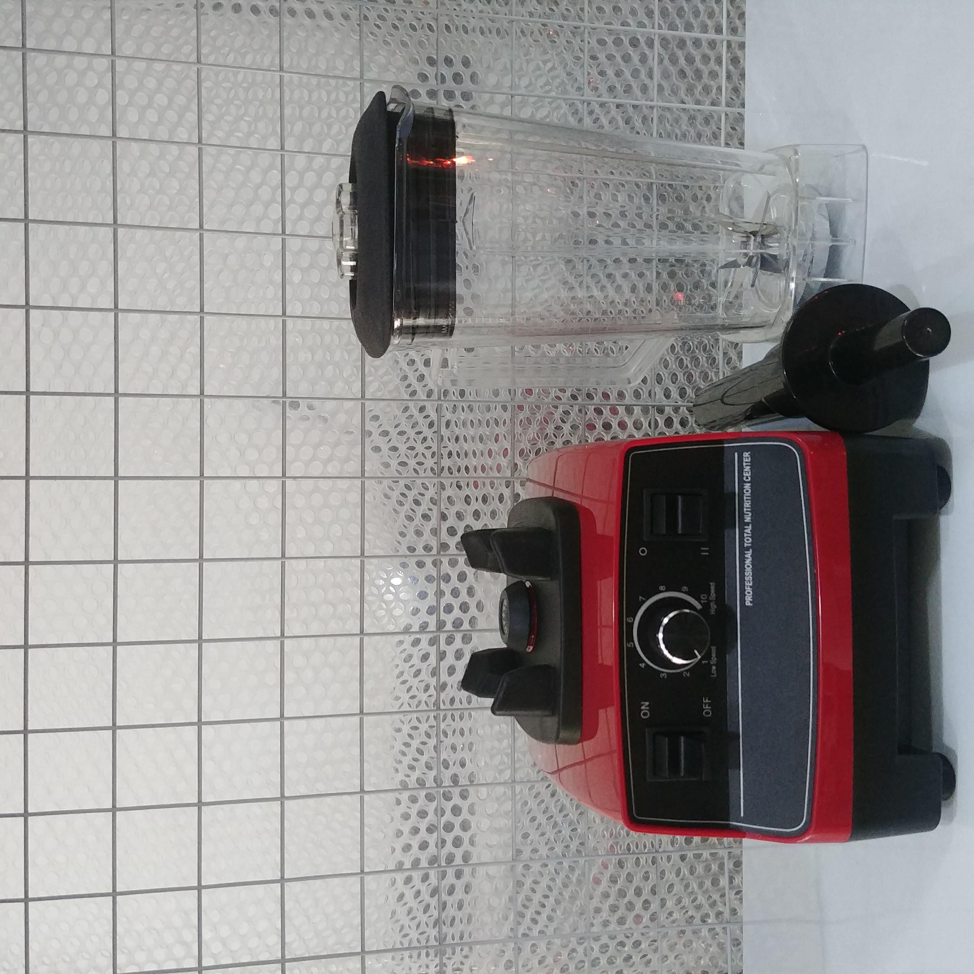 Máy xay sinh tố công nghiệp G5200 công suất 2200W, cối vuông 2 lít, lưỡi dao 8 cánh