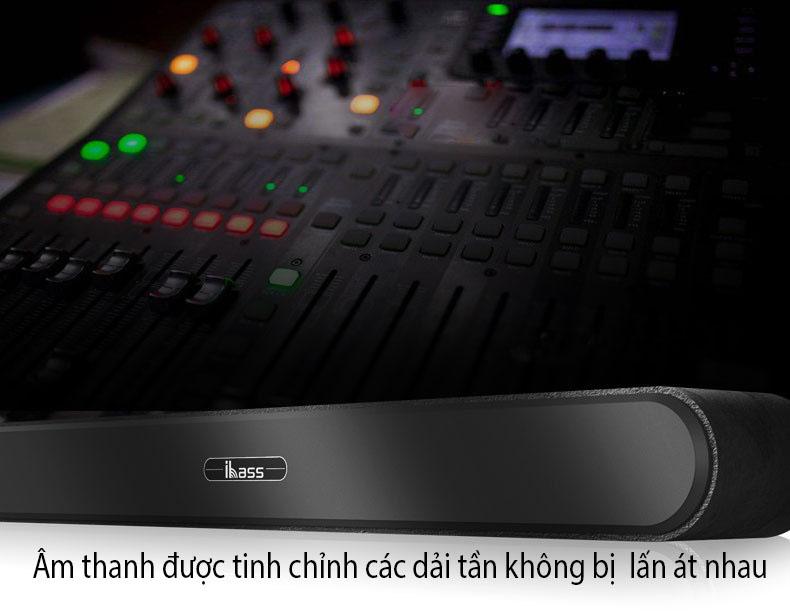 loa thanh tivi loa soundbar karaoke gồm 2 micro UHF D9100K ( hàng nhập khẩu ) có phíc điện đa năng đi kèm