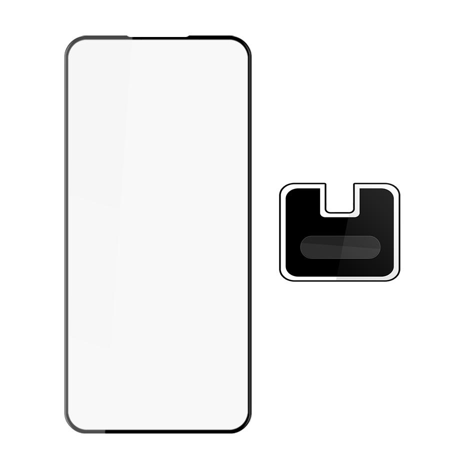 Combo Kính Cường lực Màn Hình + Cường lực Camera Dành cho Vsmart Active 3- Handtown- Hàng Chính Hãng