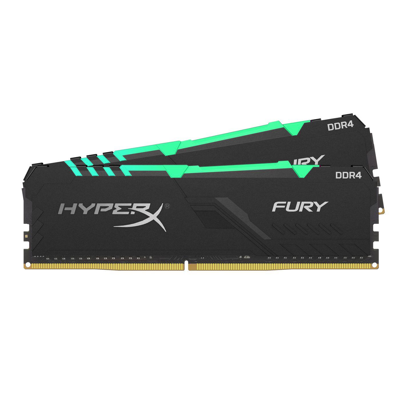 Ram Desktop Kingston 32GB (2* 16GB) 3200MHZ DDR4 CL16 DIMM HX432C16FB3AK2/32 - Hàng Chính Hãng