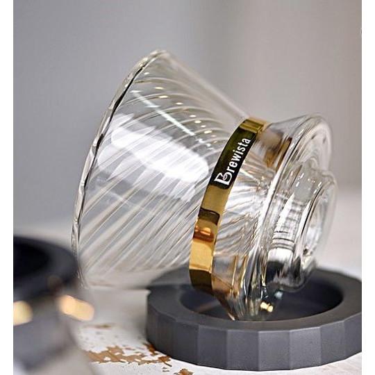 Phễu lọc cà phê V60 thủy tinh Brewista Tornado Duo Dripper