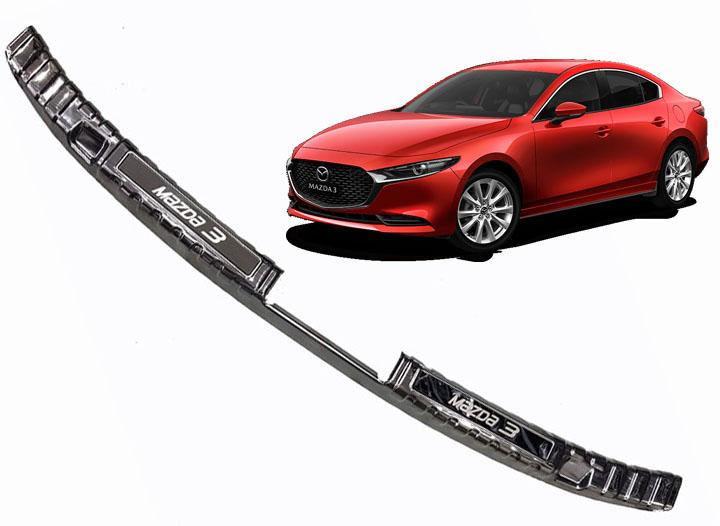 Bộ ốp chống trầy, trang trí Cốp Titan dành cho xe Mazda 3 2020