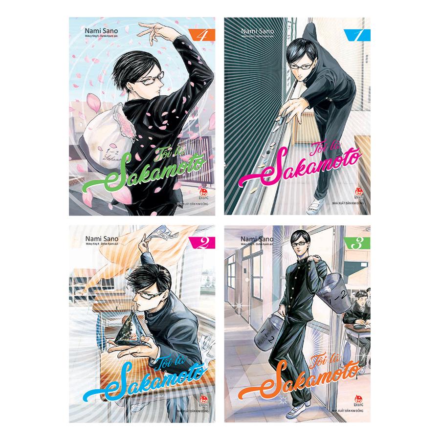 Boxset Tôi Là Sakamoto (Trọn Bộ 4 Tập)