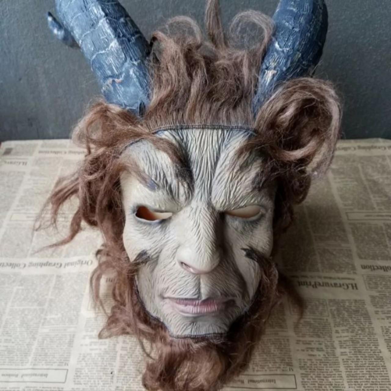 Mặt Nạ Hóa Trang Halloween Mặt Nạ Người Đẹp Và Quái Vật Bằng Cao Su Thiên Nhiên Thân Thiện Môi Trường