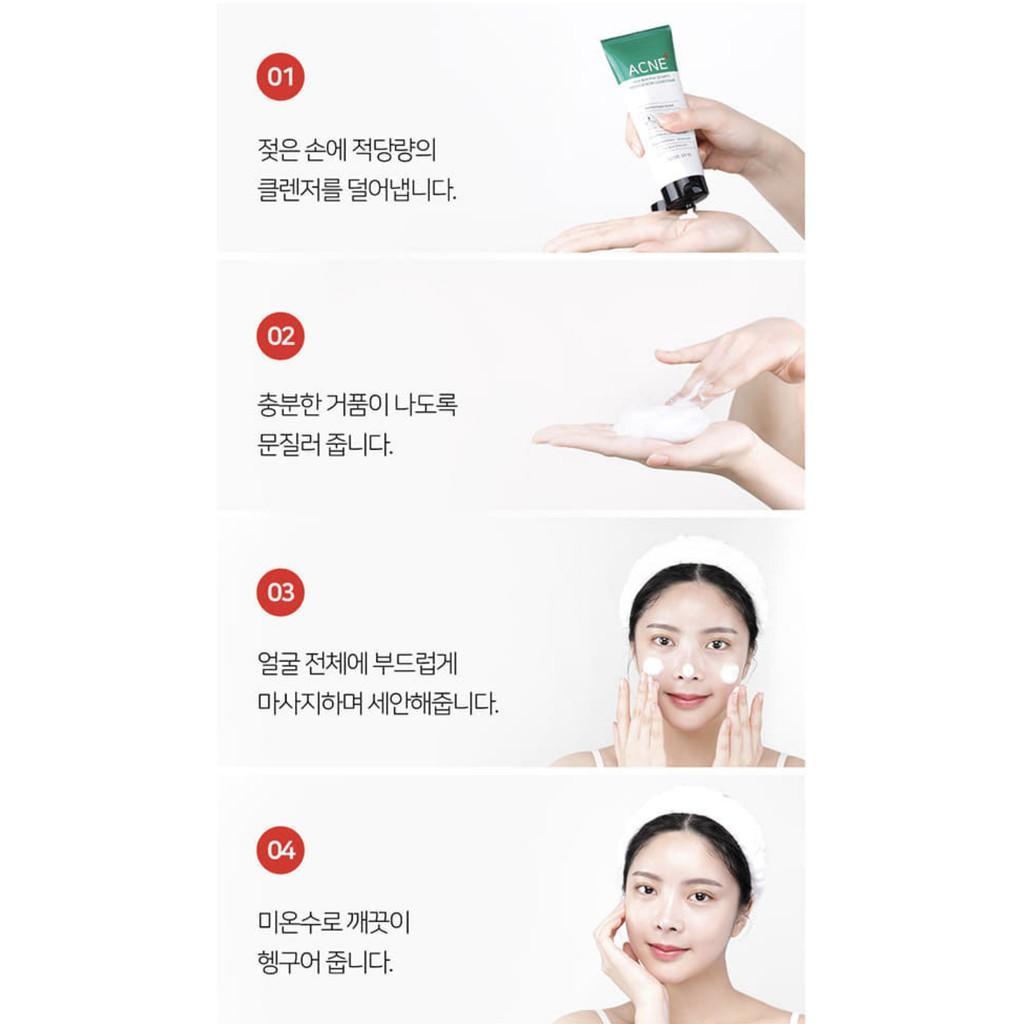 Sữa Rửa Mặt Ngăn Ngừa Mụn Some By Mi AHA-BHA-PHA 30 Days Miracel Acne Clear Foam
