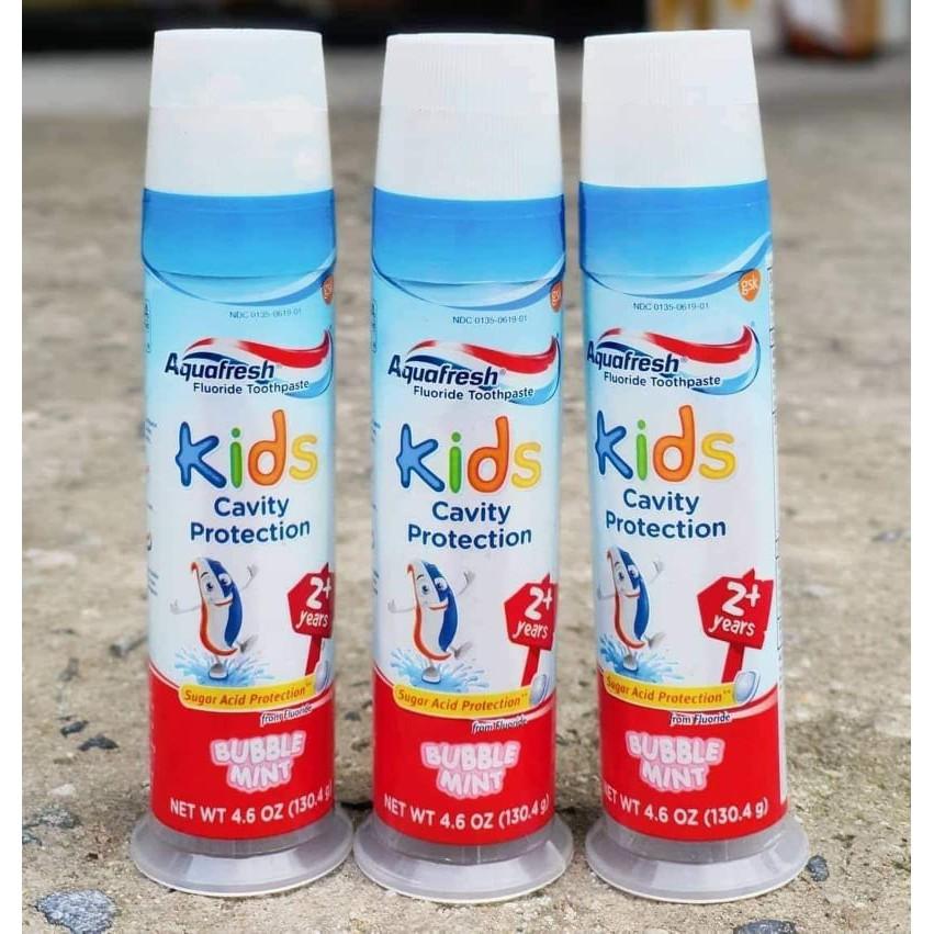 Kem Đánh Răng Trẻ Em Aquafresh Kids Cavity Protection 130.4g