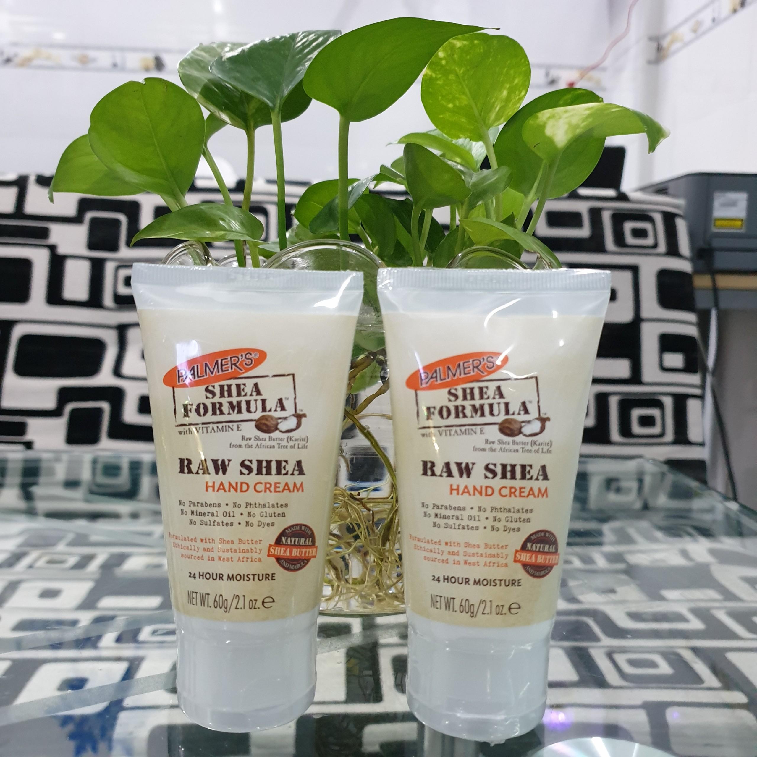2 tuýp kem dưỡng da tay giữ ẩm Bơ hạt mỡ Palmer's Shea Formula 60g + tặng Dầu gội dừa Palmer's 50ml