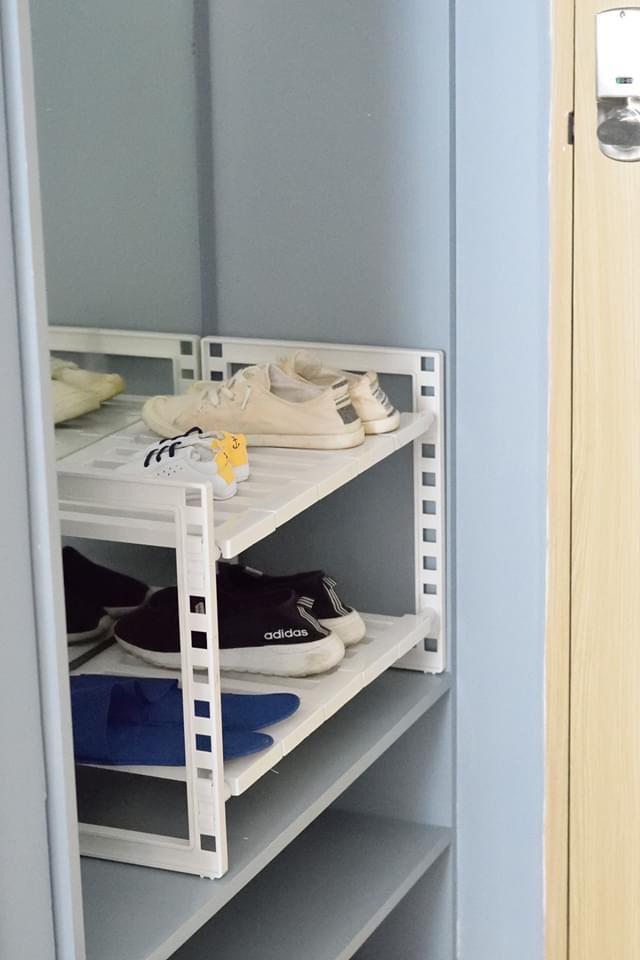 Kệ đa năng thu gọn để giầy dép, gầm bếp hàng cao cấp nội điạ Nhật ( Giao màu ngẫu nhiên ) - ANTH230