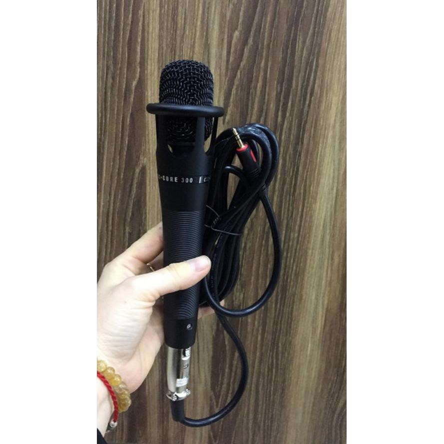Mic hát có dây E300 - Hàng Nhập Khẩu