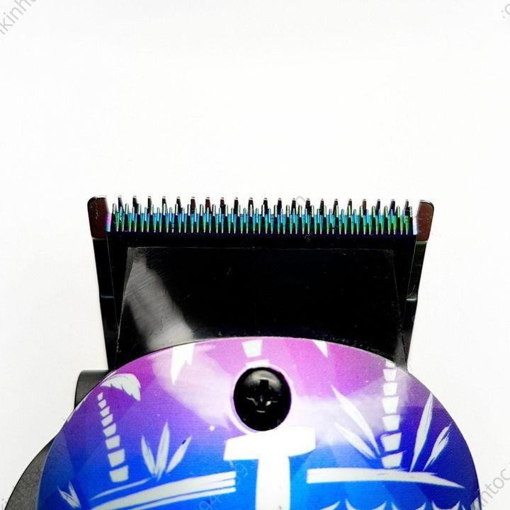 Tông đơ cắt tóc BBM lưỡi kép màu vàng động cơ 10W BT503