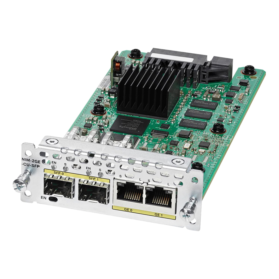 Card Mạng Cisco NIM-2GE-CU-SFP - Hàng Nhập Khẩu