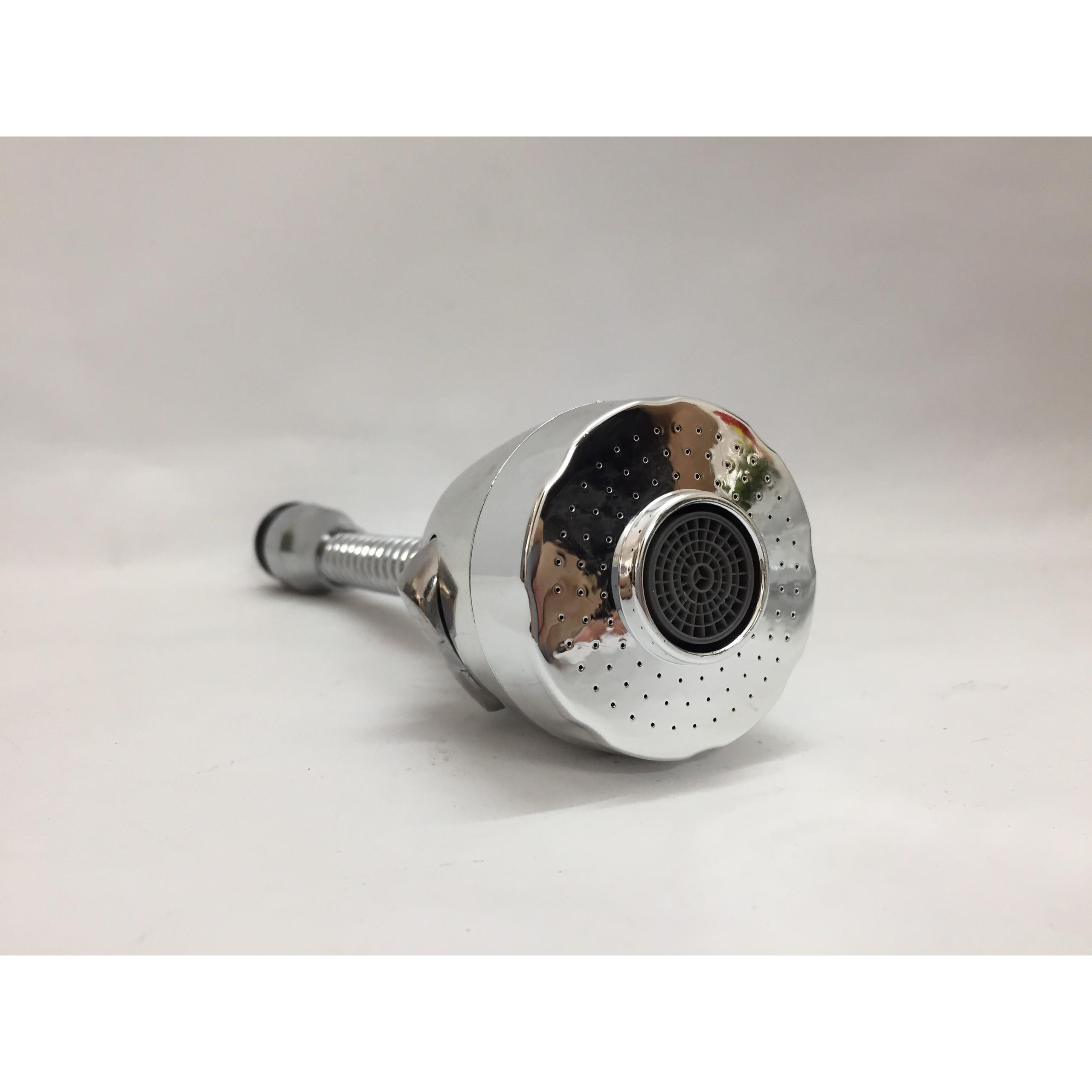 Đầu vòi tăng áp lực nươc xoay 360 độ