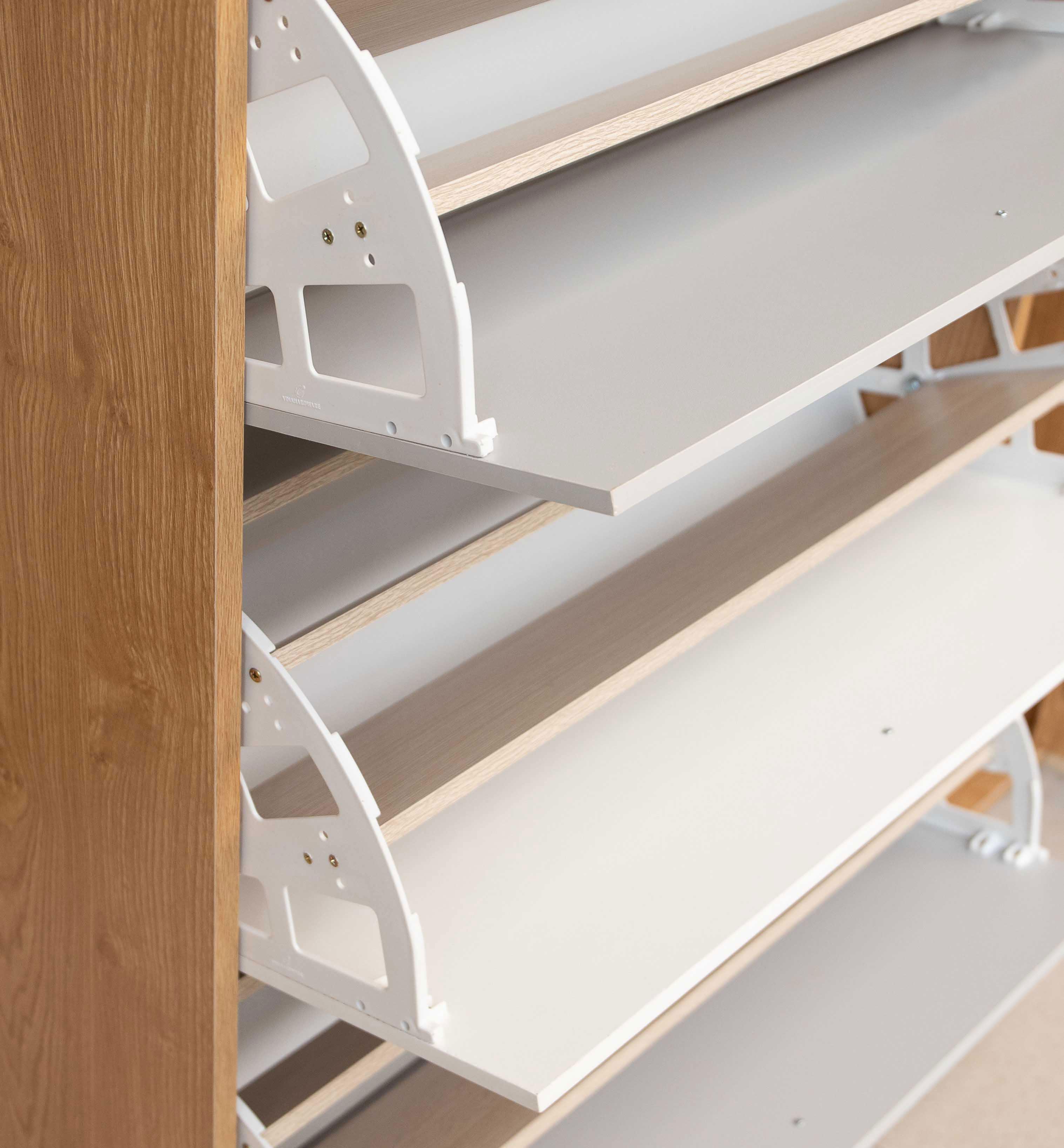 Tủ Đựng Giầy Dép,Tủ Để Giày Dép Thông Minh Có Ngăn Đựng Nón Bảo Hiểm (TG-13)