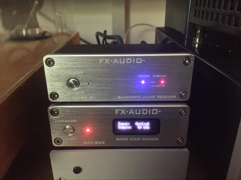 Bộ DAC giải mã âm thanh FX-AUDIO DAC-SQ5 AZONE
