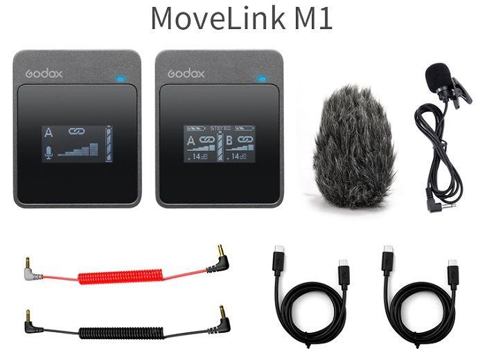 Micro thu âm Godox MoveLink M1 Hàng Chính Hãng