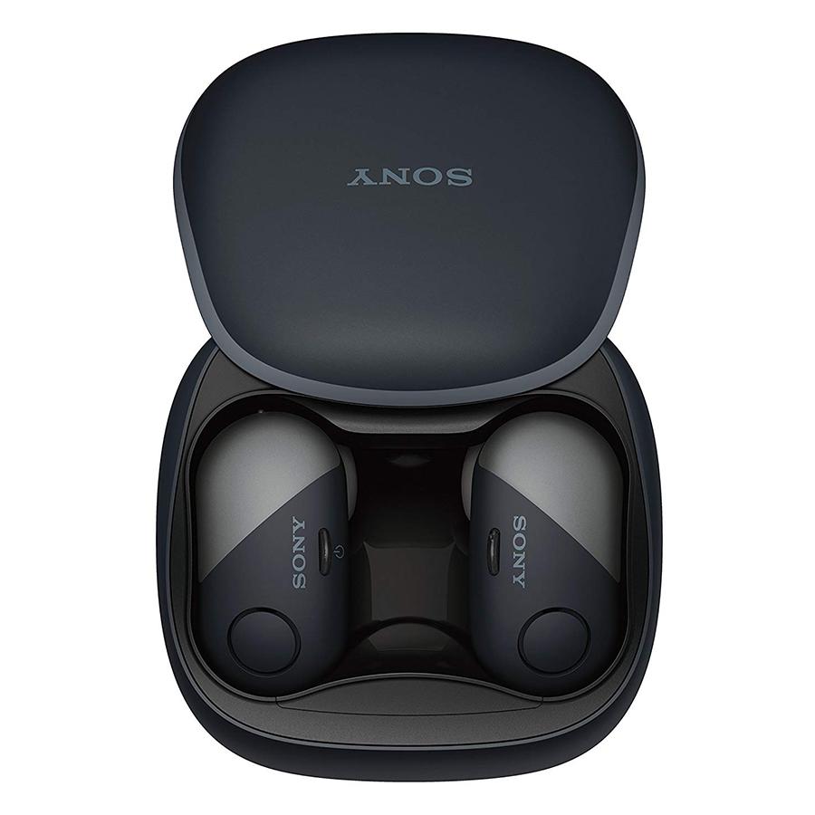 Tai Nghe Bluetooth Thể Thao Sony WF-SP700N Noise Canceling - Hàng Chính Hãng