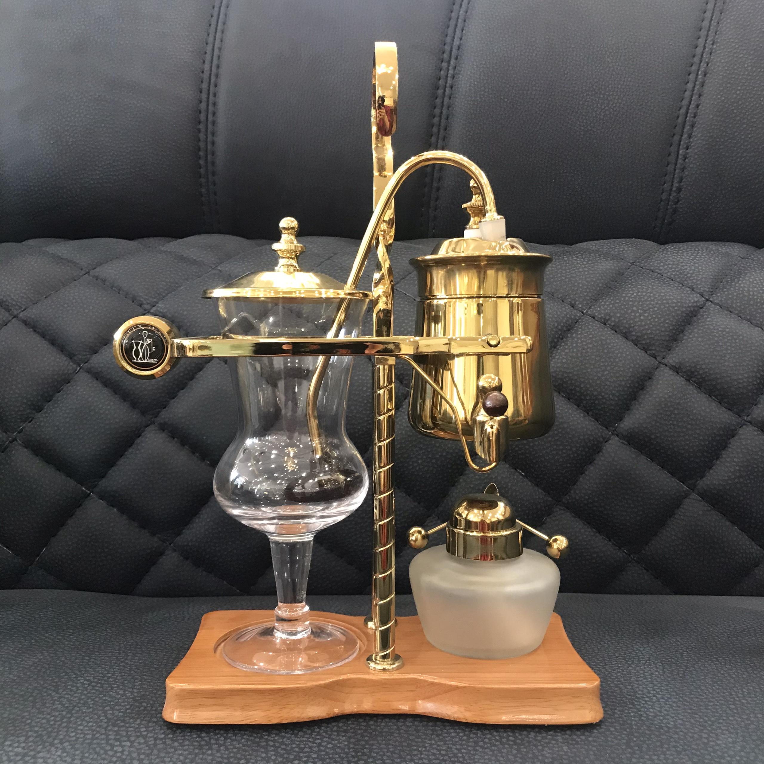 Máy pha cafe hoàng gia máy pha cafe phong cách tân cổ điển sang trọng dùng trang trí và sử dụng được