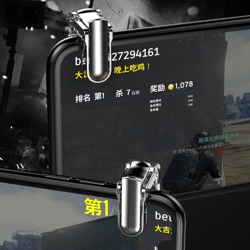 Bộ gamepad nút hỗ trợ chơi game PUBG Mini FIVE cho điện thoại máy tính bảng - Hàng nhập khẩu