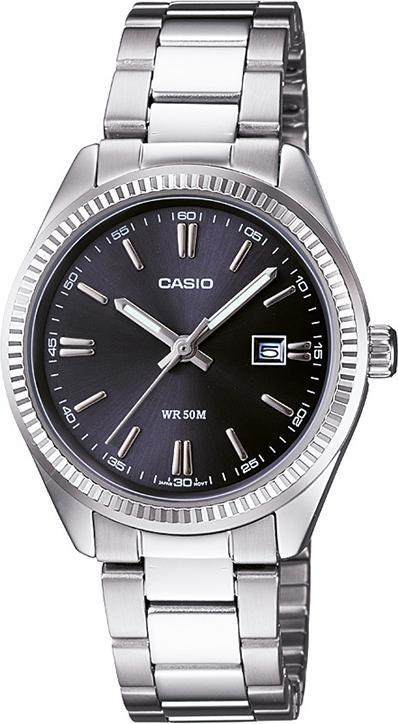 Đồng hồ nữ dây thép không gỉ Casio LTP-1302D-1A1VDF