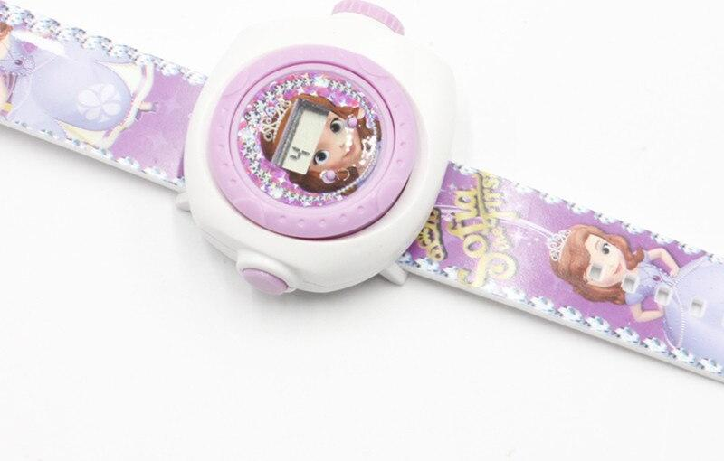 Đồng hồ chiếu 20 hình công chúa sofia