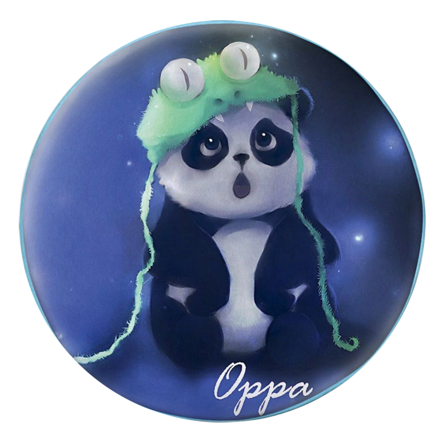 Gối Ôm Tròn Gấu Panda Oppa - GOFF034