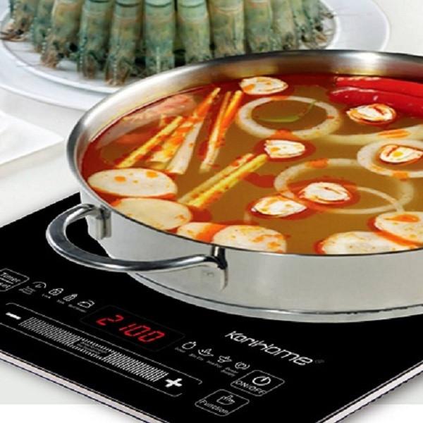 Combo Bếp từ đơn KoriHome ICK-229 + Nồi dùng cho bếp - Hàng chính hãng