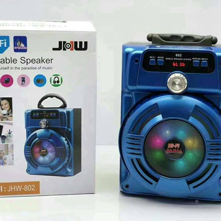 Loa bluetooth karaoke JHW 802
