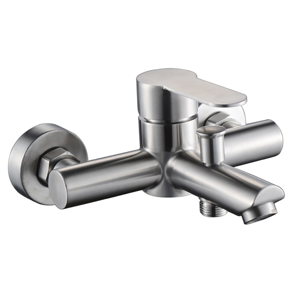 Vòi tắm nóng lạnh Inox SUS 304 (không chì ), lắp đặt trên tường