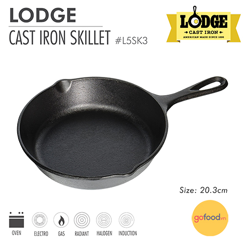 Lodge - Chảo gang - 20.3cm