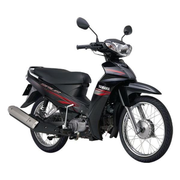 Xe Máy Yamaha Sirius Phanh Cơ - Đen