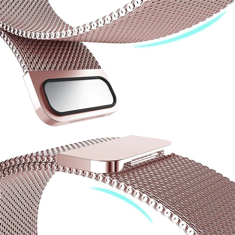 Dây đeo thay thế cho đồng hồ thông minh Apple Watch 42mm Kakapi thép không ghỉ - Hàng chính hãng