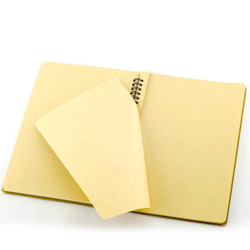 Bộ 3 cuốn sổ Kraft A5 - KRN-A5