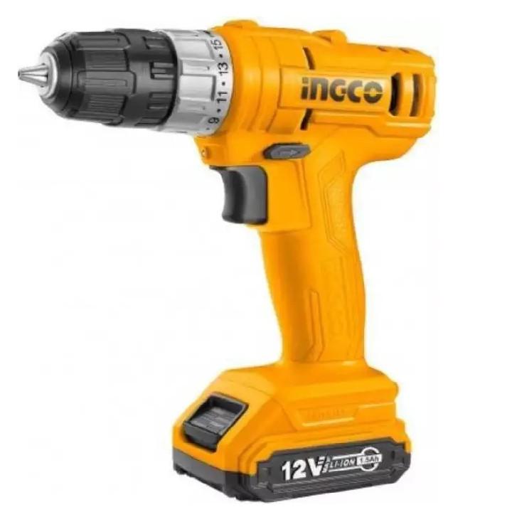 12V Máy khoan vặn vít dùng pin INGCO CDLI1211