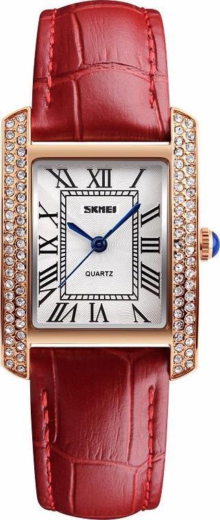 Đồng hồ nữ Skmei 1281 màu đỏ