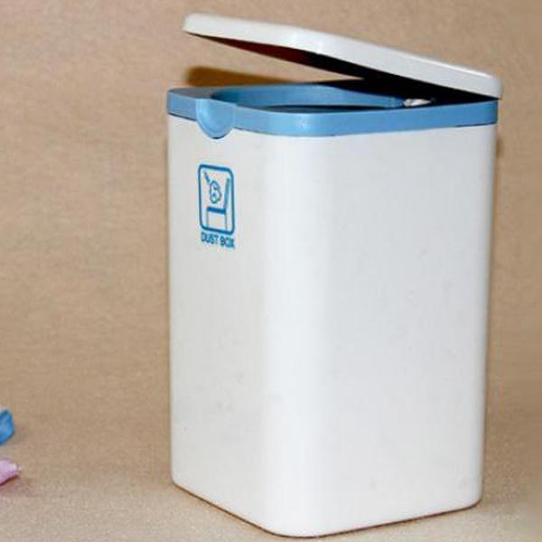 Thùng đựng rác để bàn trong văn phòng nhỏ gọn hàng nội địa Nhật Bản