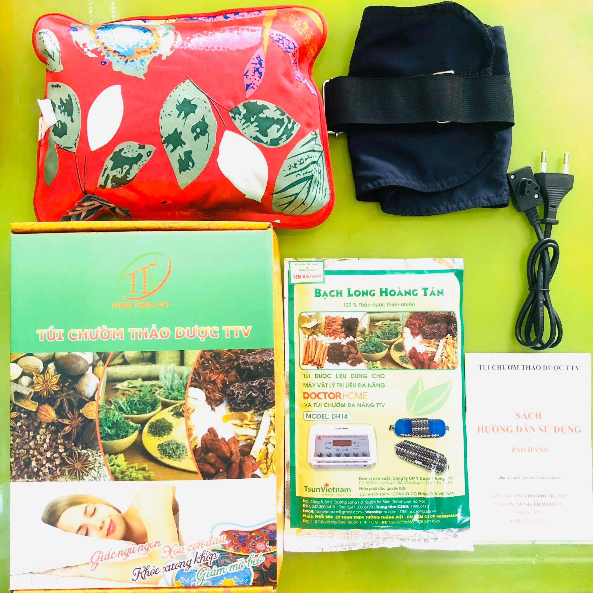 Túi chườm điện thảo dược cho người già và phụ nữ sau sinh