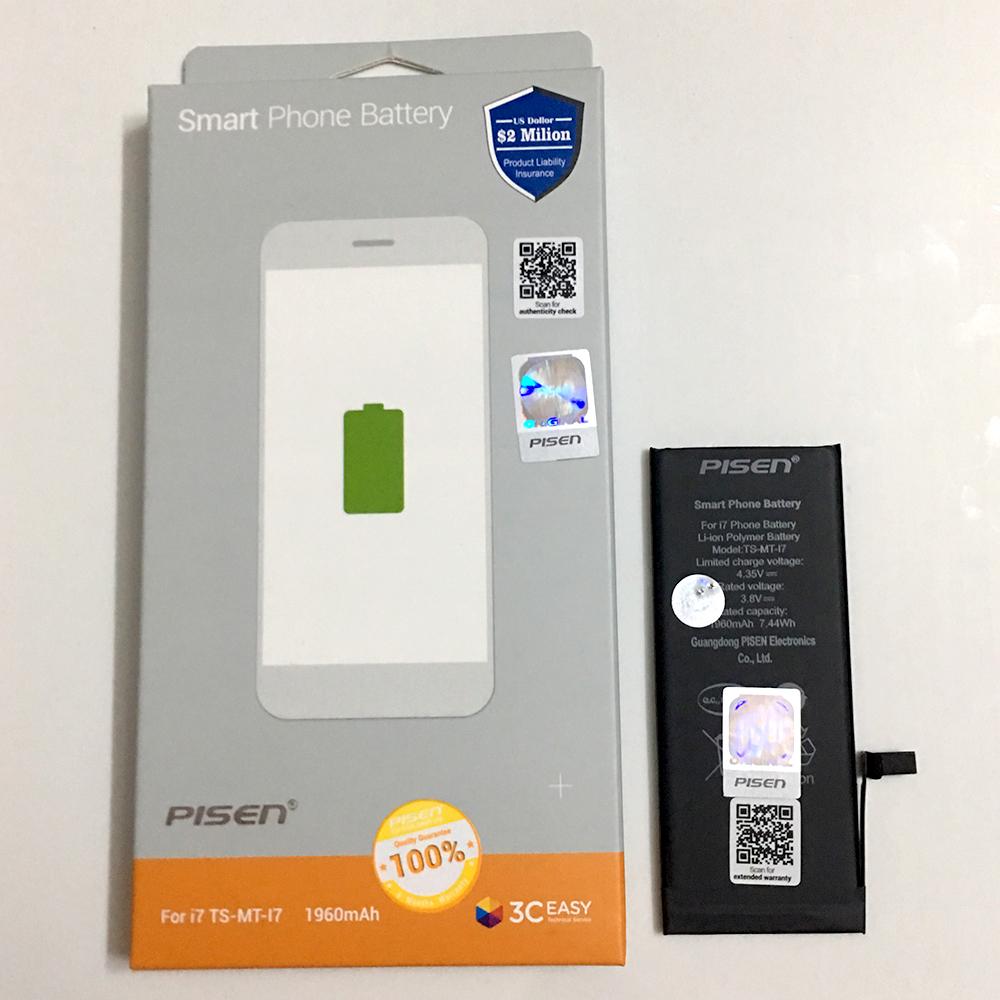 Pin Dành Cho iPhone 7 Pisen - Hàng Chính Hãng