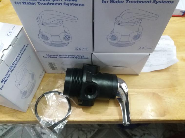 Van 3 ngã,van lọc nước,van 3 cửa,van cơ máy lọc nước, phi 27(1 cái) xử lý nguồn nước nhiểm phèn