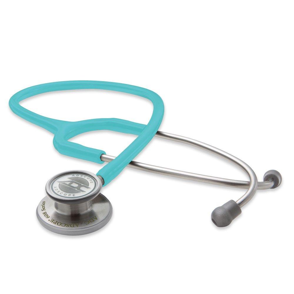 Ống nghe ADC 608 TQ hai mặt màng phù hợp sử dụng cho cả người lớn và trẻ em, độ nhạy âm thanh cao phù hợp cho khám đa khoa tổng quát