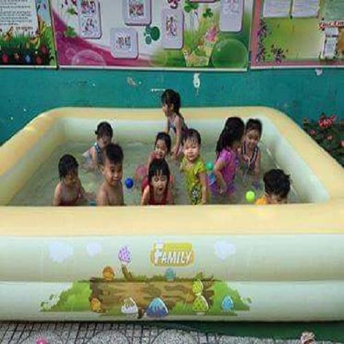Bể bơi gia đình KT 210*145*65CM (tặng kèm bơm điện 2 chiều)